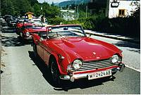 "TR4 mit ""Power Bulge"""